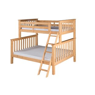 Lindy Mission Twin over Full Bunk Bed by Harriet Bee