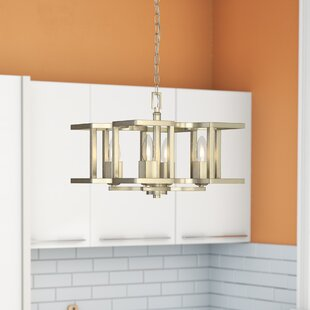 Zubair 4-Light Semi Flush Moun..