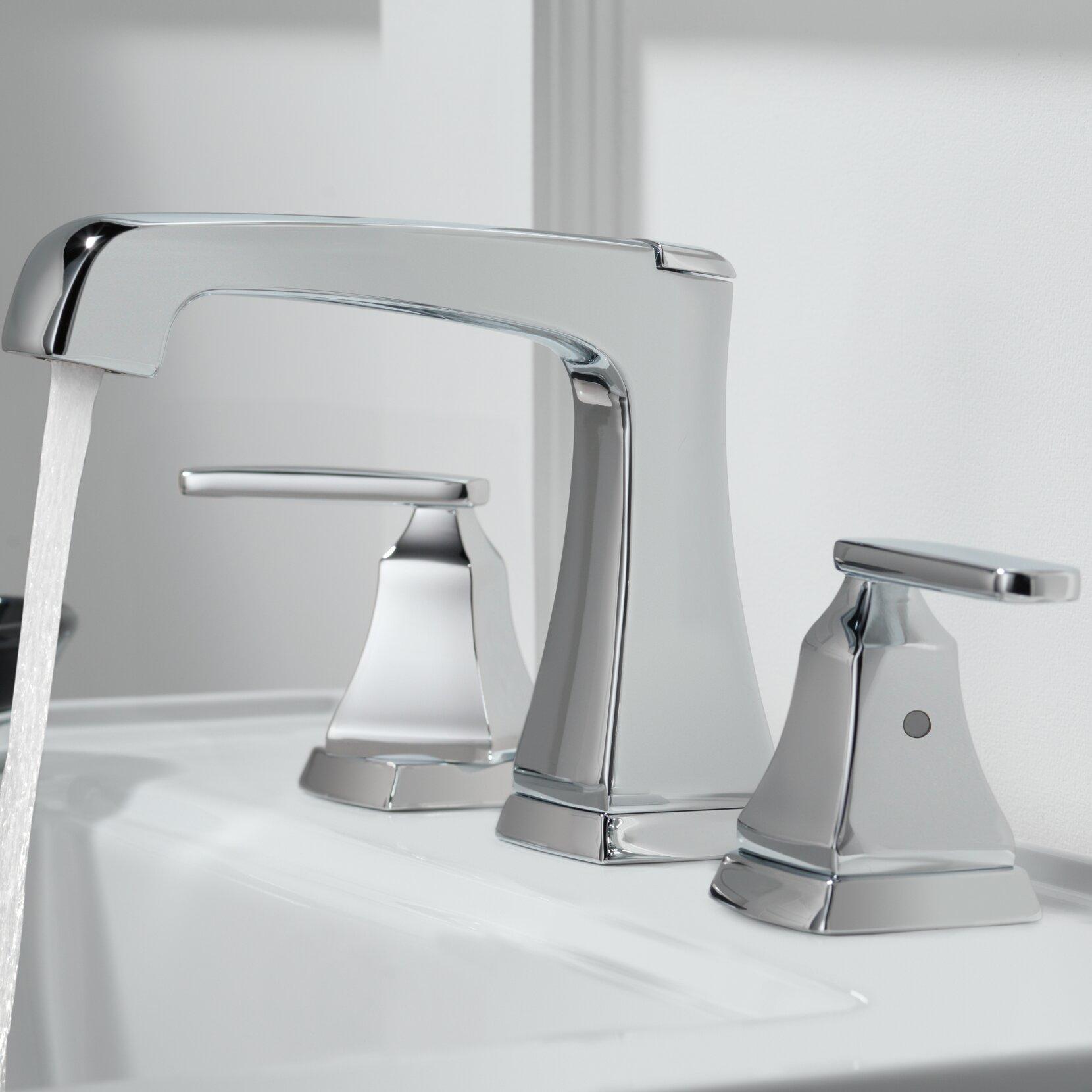 3564 Ssmpu Dst Rbmpu Mpu Delta Ashlyn Widespread Bathroom Faucet Drain Embly And Diamond Seal Technology Reviews Wayfair