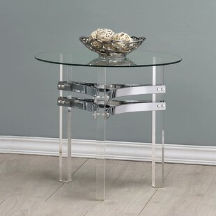 Read Reviews Trinton End Table by Orren Ellis