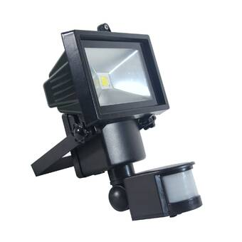 HomeZone Outdoor Solar Security Motion Sensor Lights Twin 6000K LED Weatherproof