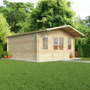 Bridgewood 16 X 16 Ft. Tongue And Groove Log Cabin By Sol 72 Outdoor