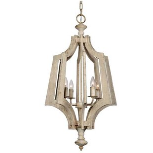 Lydon 4-Light Lantern Chandelier by House..