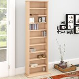 Conners Multimedia Standard Bookcase by Charlton Home®