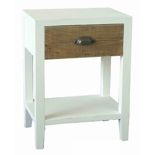 Sophisticated End Table by Woodland Imports