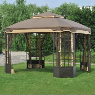 Replacement Canopy for 10' W x 12' D Bay Window Gazebo by Sunjoy