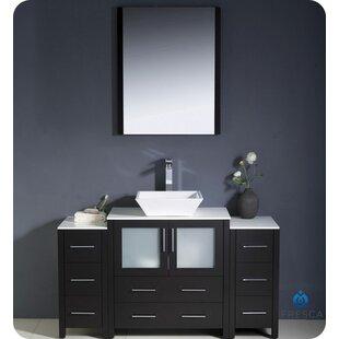 Torino 54 Single Bathroom Vanity Set with Mirror By Fresca
