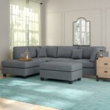 Hemphill 104 Reversible Sectional with Ottoman by Andover Mills™