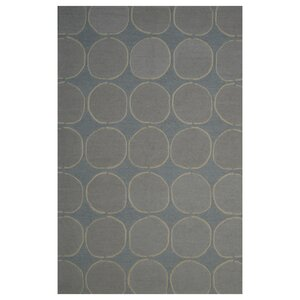 Wool Hand-Tufted Blue/Beige Area Rug