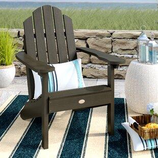 Sides Plastic Adirondack Chair