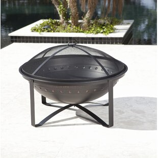 Highland Steel Wood Burning Fire Pit By Fire Sense