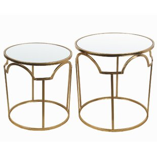 Delossantos 2 Piece Nesting Tables