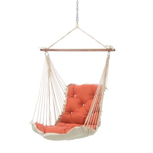 Wilcoxen Tufted Single Sunbrella Chair Hammock by Bungalow Rose