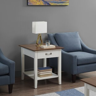 Highland Dunes Manville End Table with Storage