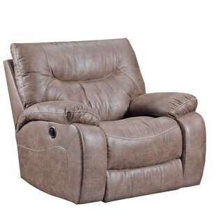 Grizzly Hill Manual Rocker Recliner by Simmons Upholstery by Loon Peak