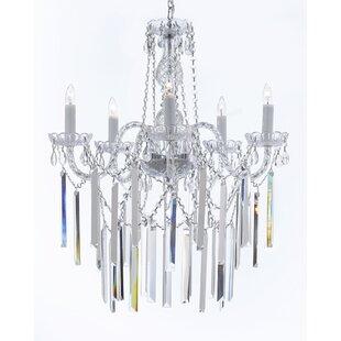 Rosdorf Park Hoffman 5-Light Candle Style..