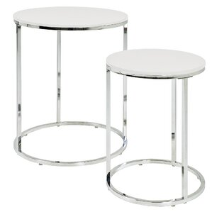 Alford Paula 2 Piece Nest of Tables