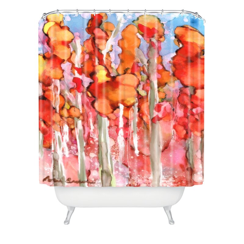 Awesome Autumn Shower Curtain