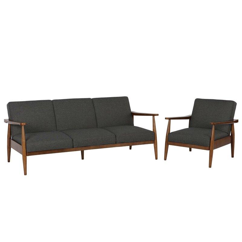 Incredible Julia Mid Century Modern Convertible Sofa Dailytribune Chair Design For Home Dailytribuneorg