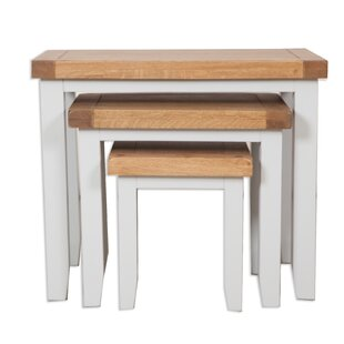 Colleton 3 Piece Nest Of Tables By Beachcrest Home