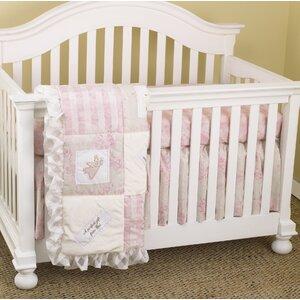 Sadie 3 Piece Crib Bedding Set