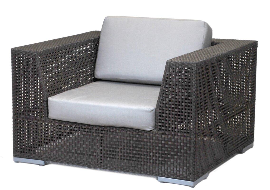 Soho Patio Lounge Chair With Cushion