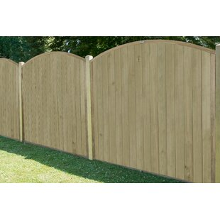 Johana 6' x 5' (1.83m x 1.52m) Tongue and Groove Fence Panel (Set of 3) by Lynton Garden