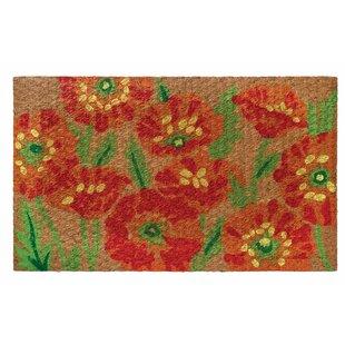Low Profile Flatweave Poppy Doormat