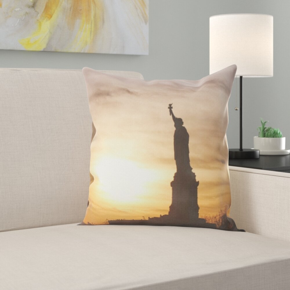 Best Price Statue Of Liberty Throw Pillow Furniture Online Ww36 Sancochofest Co