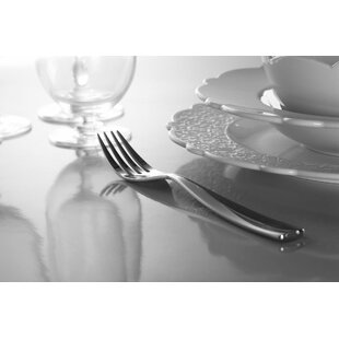 Dressed 24 Piece 18/10 Stainless Steel Flatware Set, Service for 6