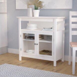 Budget Cendrillon Wood Storage 2 Door Accent Cabinet ByZipcode Design