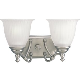 Denton 2-Light Vanity Light by Alcott Hill