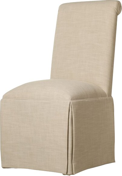 Incredible Skirted Dining Chair Wayfair Ibusinesslaw Wood Chair Design Ideas Ibusinesslaworg