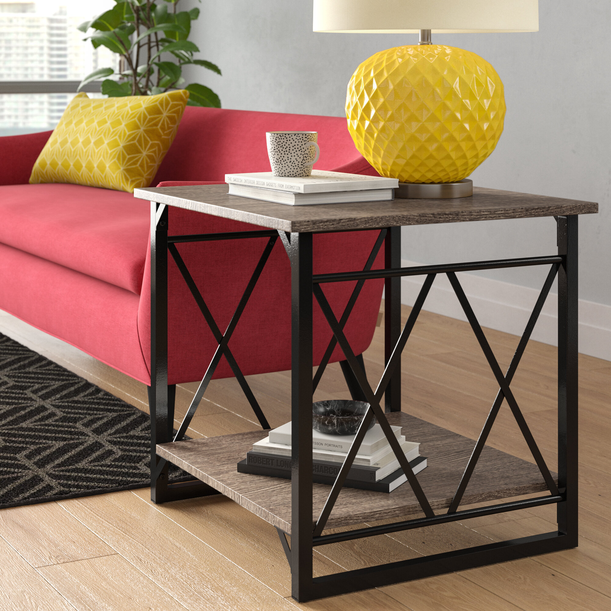 Wrought Studio Phaidra End Table Reviews Wayfair