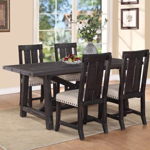 Gaudette Brown Extendable Dining Table
