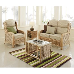 Tyrell 3 Piece Conservatory Sofa Set By Brambly Cottage