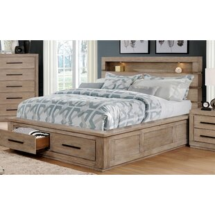 Jeffers Storage Platform Bed