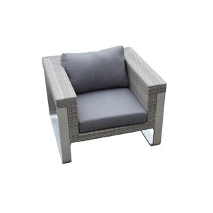 Regalado Outdoor Patio Chair with Cushions