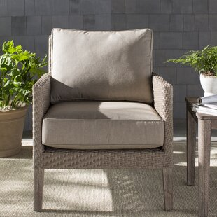 Nishant Deep Seating Lounge Chair with Cushion by Gracie Oaks