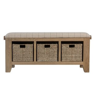 Taryn Wood Storage Bench By House Of Hampton