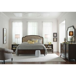 Bordeaux Upholstered Panel Headboard by Canora Grey