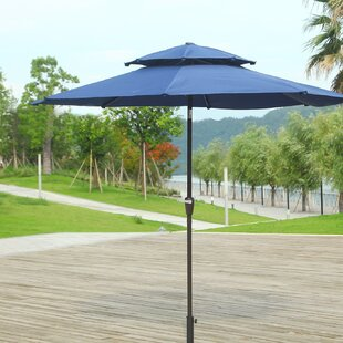 Brayden Studio Dimond 9' Market Umbrella