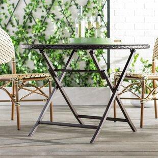 Belton Folding Wicker/Rattan Dining Table