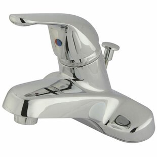 Elements of Design Columbia Centerset Bathroom Faucet with Drain Assembly