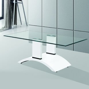 Fab Glass and Mirror Elite Tempered Glass Coffee Table