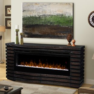 Elliot TV Stand for TVs up to 70 with Fireplace by Dimplex