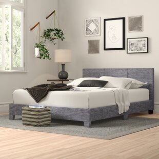 Nia Upholstered Bed Frame By Zipcode Design