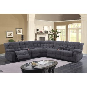 Clarafield Reclining Sectional by Red Barrel..