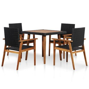 Batson 4 Seater Dining Set Image