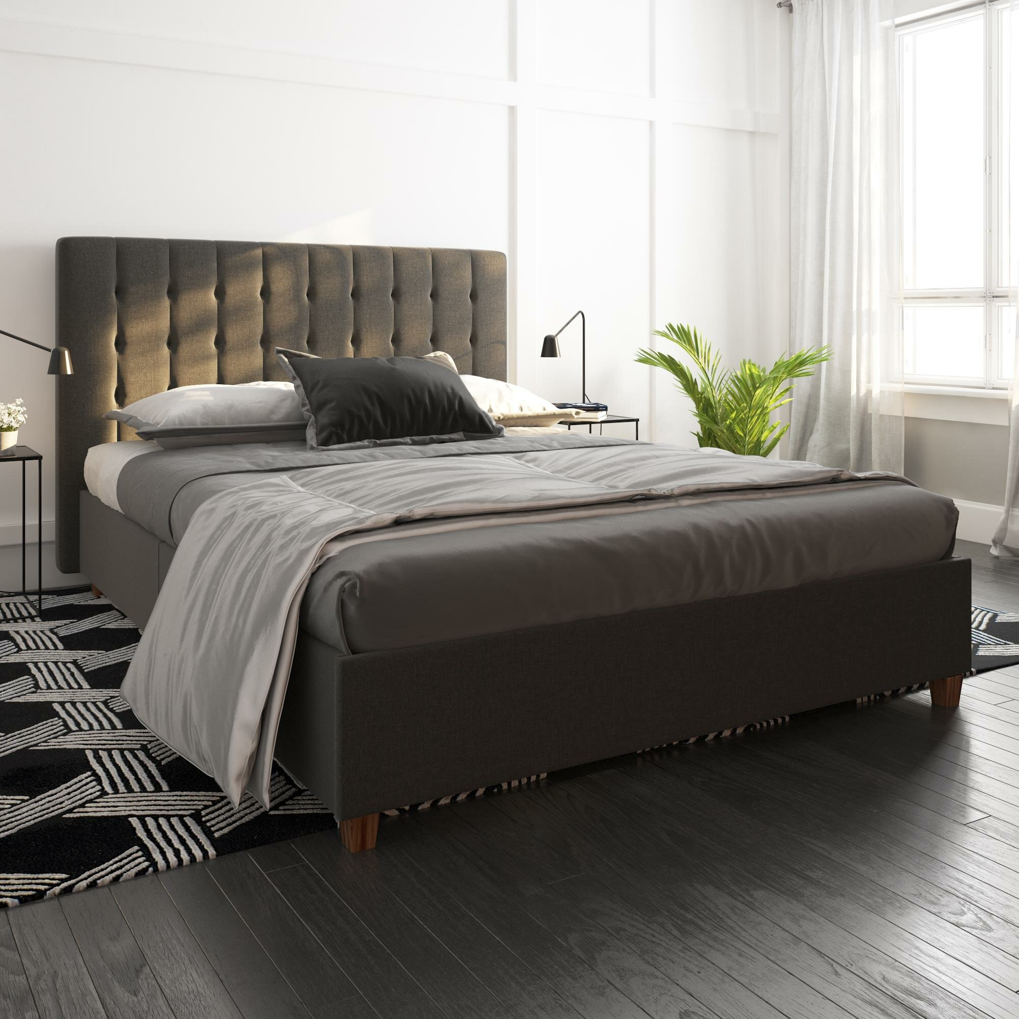 Picture of: Queen Size Upholstered Beds You Ll Love In 2020 Wayfair